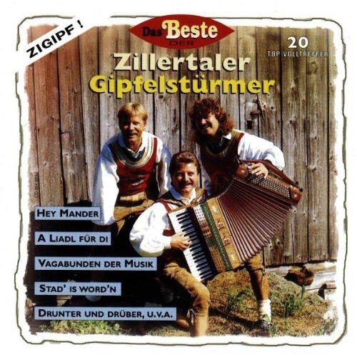 Zillertaler Gipfelst³rmer - Das Beste der Zillertaler Gipfelstürmer - Preis vom 20.01.2021 06:06:08 h