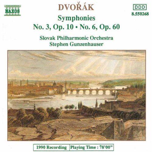 Gunzenhauser - Dvorak: Sinfonien 3 und 6 Gunzenhauser - Preis vom 09.04.2021 04:50:04 h