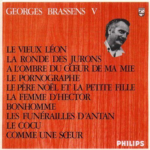 Georges Brassens - Georges Brassens Vol.5 - Preis vom 22.10.2020 04:52:23 h