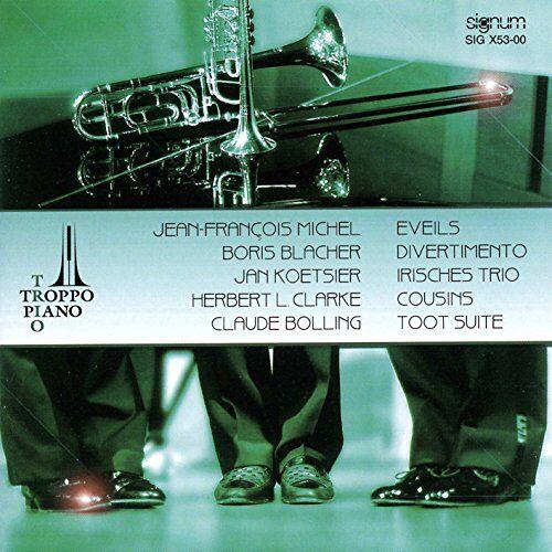 Trio Troppo Piano - Musik für Trompete, Posaune und Klavier - Preis vom 17.04.2021 04:51:59 h
