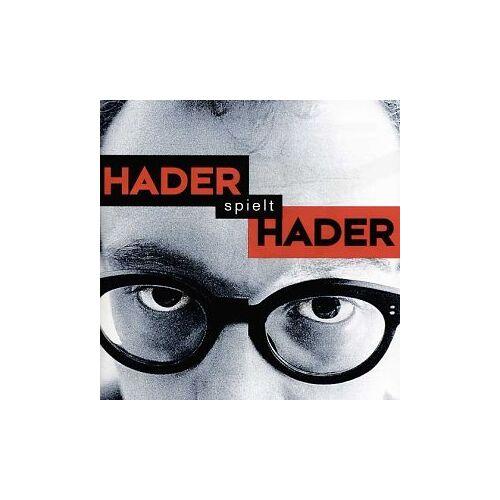 Josef Hader - Hader Spielt Hader - Preis vom 21.10.2020 04:49:09 h