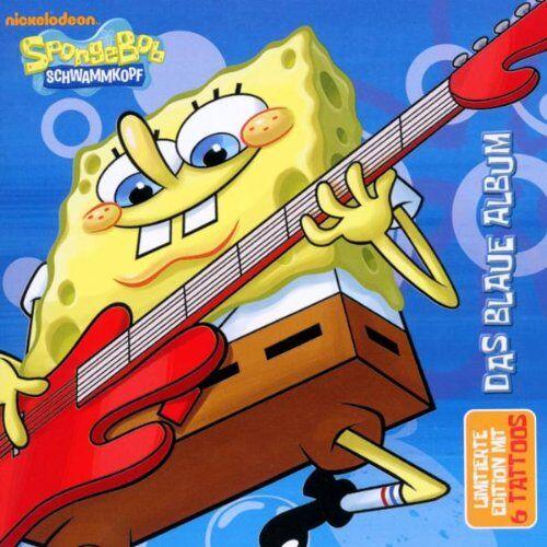 SpongeBob - Spongebob-das Blaue Album - Preis vom 20.10.2020 04:55:35 h