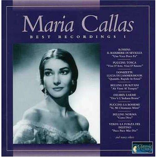 Maria Callas - Best Recording 1-Live-Recordings - Preis vom 03.05.2021 04:57:00 h