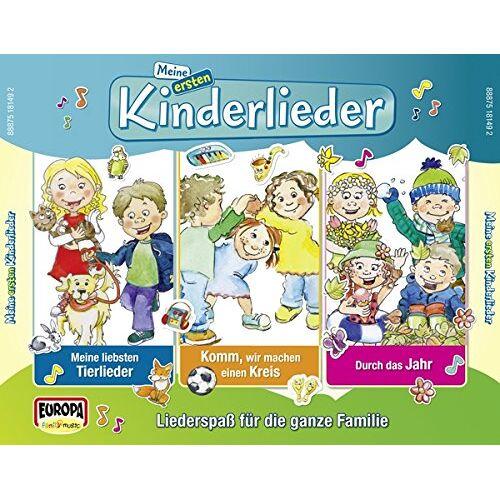 Kinderliederbande - Meine Ersten Kinderlieder - 01/3er Box (Tierlieder - Preis vom 11.05.2021 04:49:30 h
