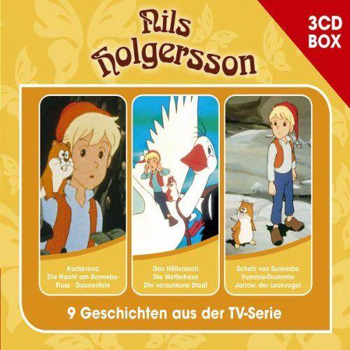 Nils Holgersson - Nils Holgersson 3-CD Hörspielbox - Preis vom 26.02.2021 06:01:53 h