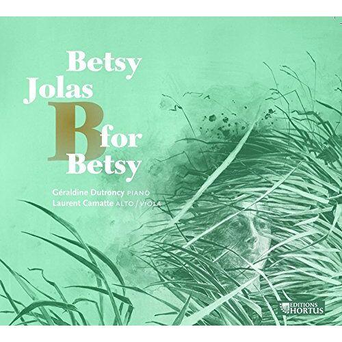 Betsy Jolas - B for Betsy - Preis vom 20.10.2020 04:55:35 h
