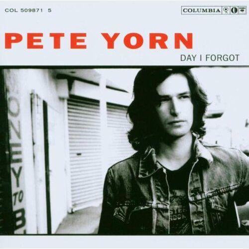 Pete Yorn - Day I Forgot - Preis vom 11.05.2021 04:49:30 h