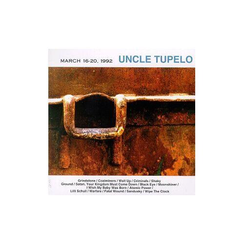 Uncle Tupello - March 16-20 1992 - Preis vom 27.11.2020 05:57:48 h