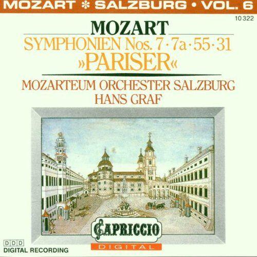 - Symphonien Nos. 7 + 7a + 55 + 31 Pariser - Preis vom 11.05.2021 04:49:30 h
