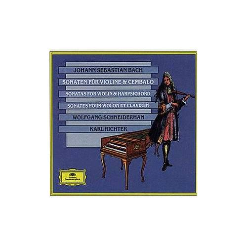 Schneiderhan - Sonaten für Violine & Cembalo - BWV 1014-19 - Preis vom 05.09.2020 04:49:05 h