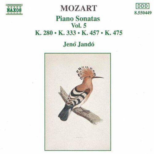 Jenö Jando - Mozart: Klaviersonaten Vol. 5 - Preis vom 08.05.2021 04:52:27 h