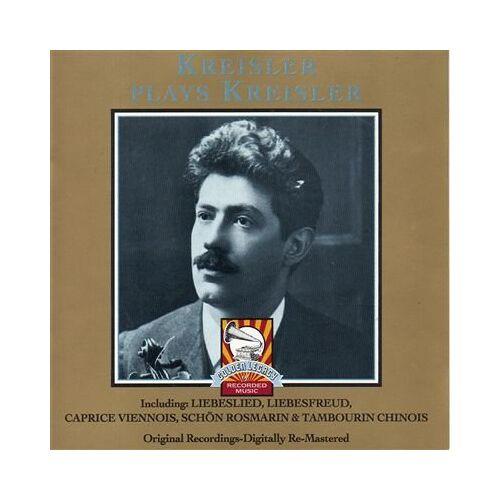 Various - Kreisler Plays Kreisler - Preis vom 26.10.2020 05:55:47 h