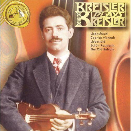 Fritz Kreisler - Kreisler Plays Kreisler - Preis vom 09.04.2021 04:50:04 h