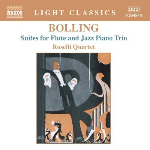 Roselli Quartett - Suites für Flöte und Jazz-Trio - Preis vom 15.04.2021 04:51:42 h