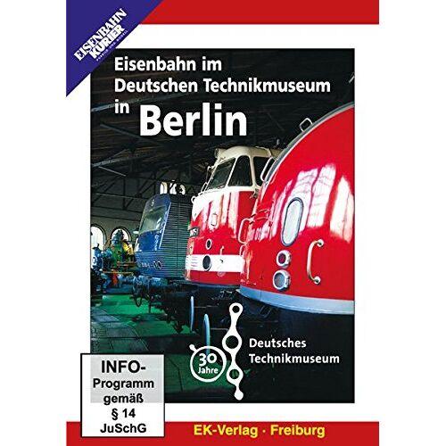 - Eisenbahn im Deutschen Technikmuseum in Berlin - Preis vom 06.04.2021 04:49:59 h