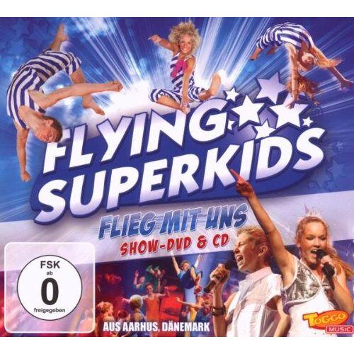Flying Superkids - Flieg Mit Uns (CD Mit Live-DVD) - Preis vom 01.03.2021 06:00:22 h