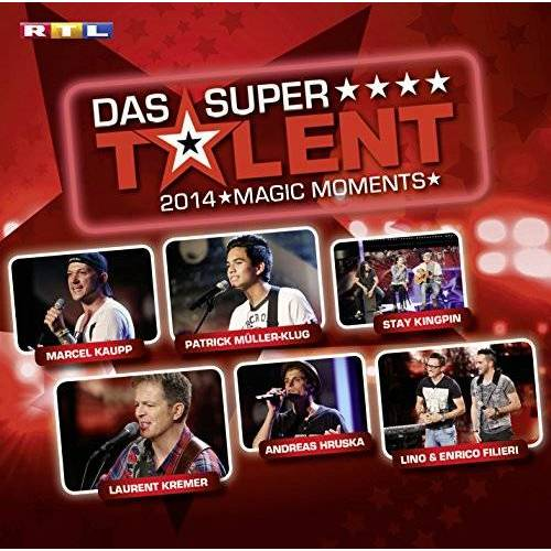 Various - Supertalent 2014-Magic Moments - Preis vom 21.04.2021 04:48:01 h