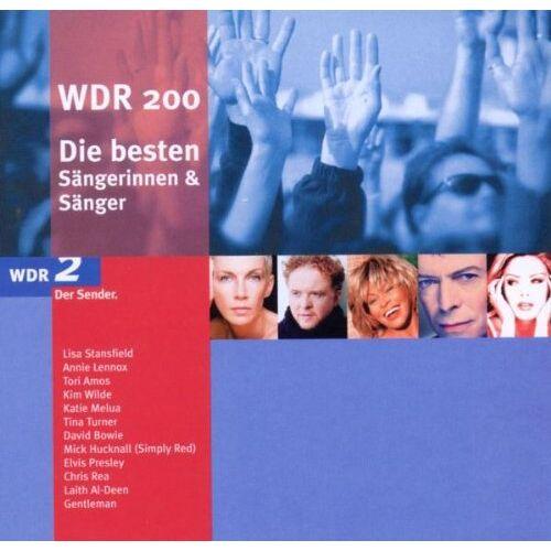 Various - WDR 200 - Die besten Sängerinnen & Sänger - Preis vom 12.05.2021 04:50:50 h