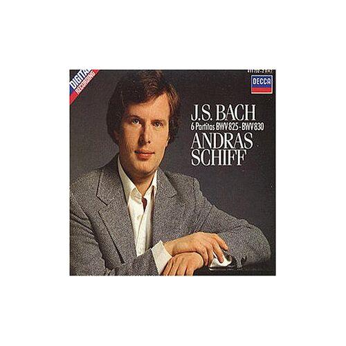 Andras Schiff - Partiten (Klavier) Bwv 825-30 - Preis vom 20.10.2020 04:55:35 h