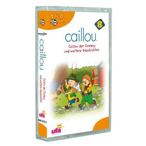 Caillou - Caillou 8,Audio:Caillou der Cowboy und Weitere Ge [Musikkassette] - Preis vom 05.05.2021 04:54:13 h