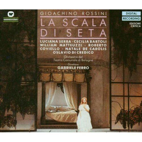 Bartoli - La Scala di seta (Rossini Opera Festival di Pesaro 1988) - Preis vom 11.04.2021 04:47:53 h