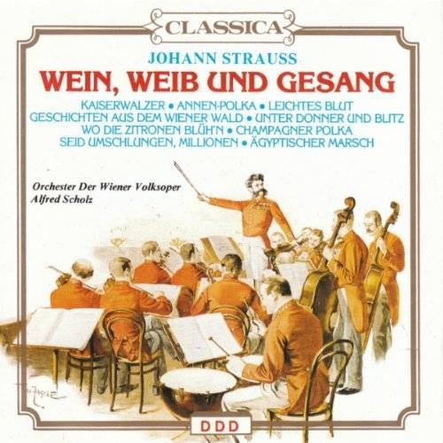 Strauss - Wein,Weib und Gesang - Preis vom 12.04.2021 04:50:28 h