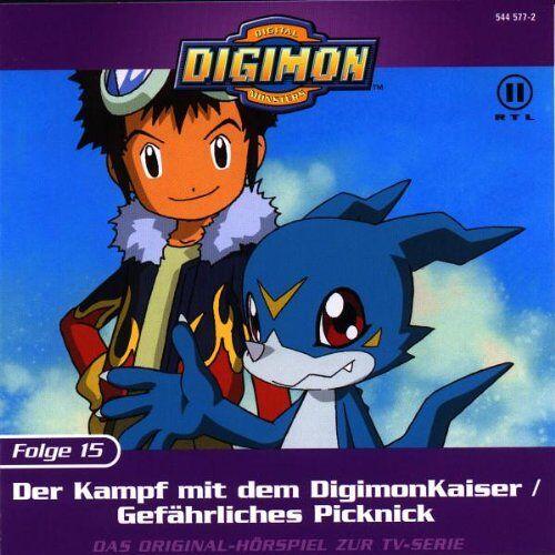 Digimon - Folge 15: Der Kampf mit dem Digimonkaiser - Preis vom 16.01.2021 06:04:45 h
