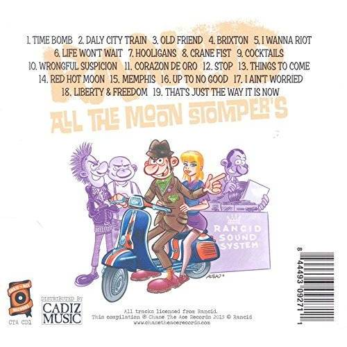 Rancid - All the Moonstompers - Preis vom 08.04.2020 04:59:40 h