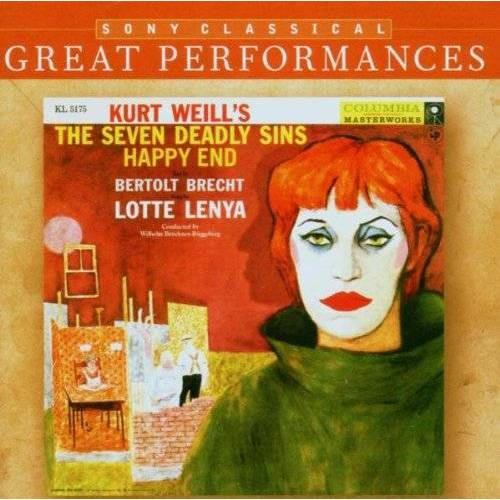 Lotte Lenya - Great Performances/Lenya Sings Kurt Weill - Preis vom 17.01.2021 06:05:38 h