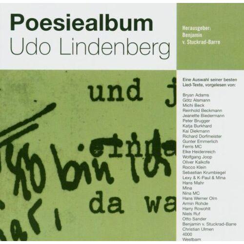 Udo Lindenberg - Poesiealbum Udo Lindenberg - Preis vom 31.03.2020 04:56:10 h