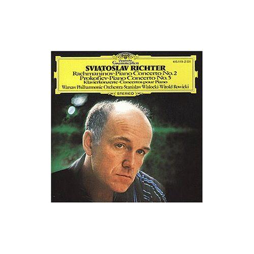 Richter - Klavierkonzert 2 / Klavierkonzert 5 - Preis vom 19.01.2021 06:03:31 h