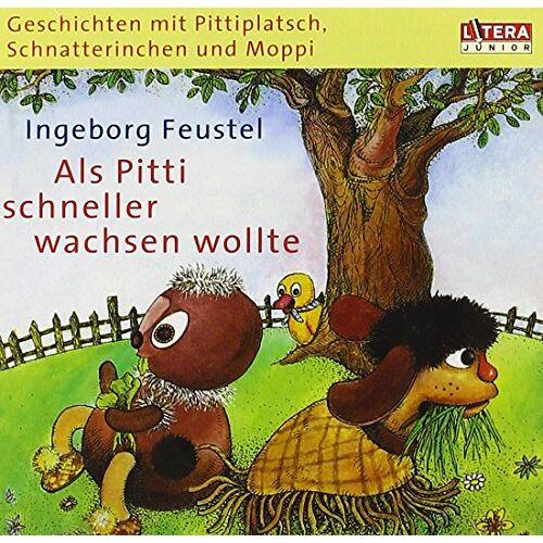 Pittiplatsch, Schnatterinchen und Moppi - Als Pitti Schneller Wachsen Wollte - Preis vom 20.10.2020 04:55:35 h