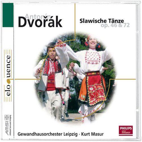 Kurt Masur - Slawische Tänze Op.46/72 - Preis vom 09.05.2021 04:52:39 h