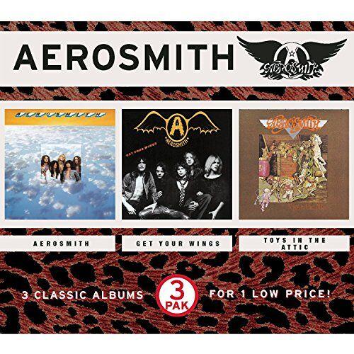 Aerosmith - Aerosmith/Get Your Wings/Toys - Preis vom 21.04.2021 04:48:01 h