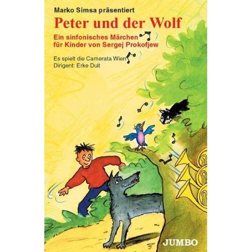 Marko Simsa - Peter und der Wolf [Musikkassette] [Musikkassette] - Preis vom 31.10.2020 05:52:16 h