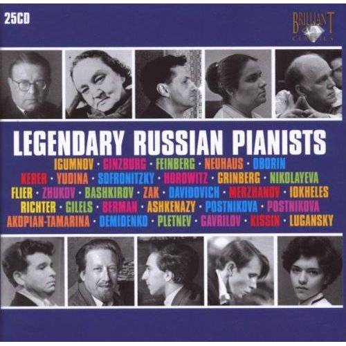 Kissin - Legendary Russian Pianists - Preis vom 20.10.2020 04:55:35 h