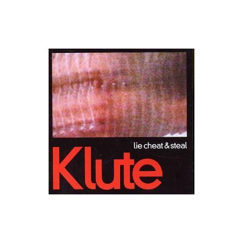 Klute - Lie,Cheat & Steal/You Should B - Preis vom 14.04.2021 04:53:30 h