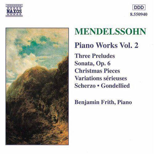Benjamin Frith - Mendelssohn Klavierwerke Vol 2 Fri - Preis vom 17.04.2021 04:51:59 h