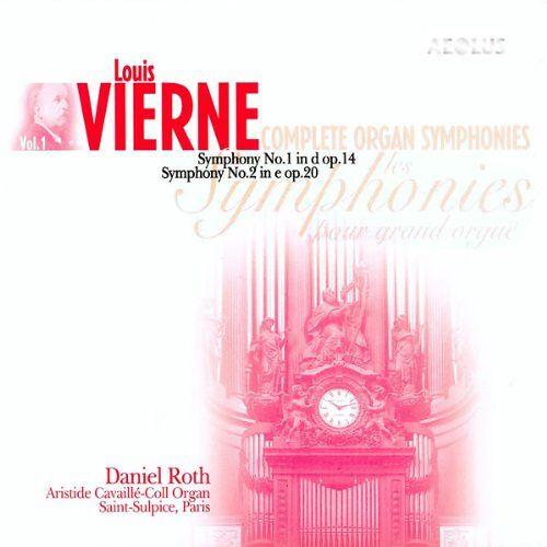 Roth Die Orgelsymphonien Vol. 1: Symphonie Nr.1 op.14 d-Moll / Symphonie Nr.2 op.20 e-Moll - Preis vom 14.05.2021 04:51:20 h