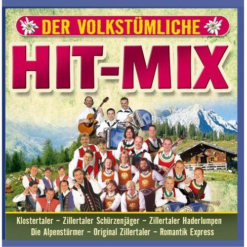 Various - Der Volkstümliche Hit-Mix-Folge 1 (Klostertaler, Zillertaler Schürzenjäger, Zillertaler Haderlumpen, Original Zillertaler ...) - Preis vom 20.10.2020 04:55:35 h