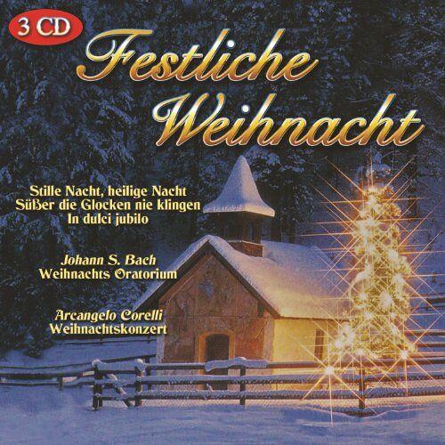 Various - Festliche Weihnacht - 3 CD - Preis vom 07.05.2021 04:52:30 h