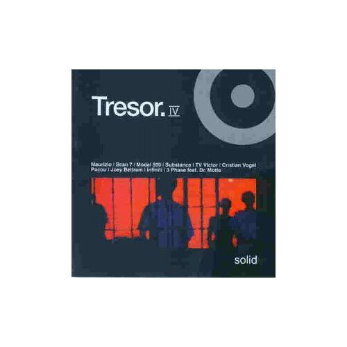 Various - Tresor.4 solid - Preis vom 28.05.2020 05:05:42 h