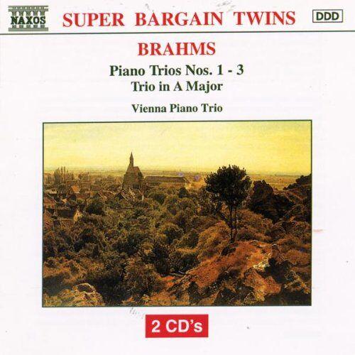 Wiener Klaviertrio - Brahms Klaviertrios 1-3 Mendl - Preis vom 06.05.2021 04:54:26 h