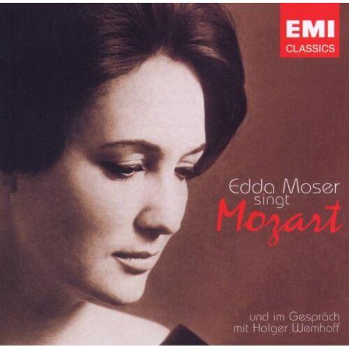 Moser - Edda Moser Singt Mozart - Preis vom 20.10.2020 04:55:35 h