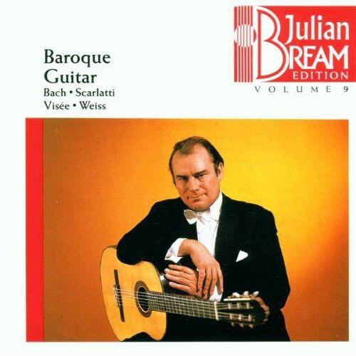 Julian Bream - Julian Bream Edition Vol. 9 (Barock-Gitarre) - Preis vom 26.02.2021 06:01:53 h
