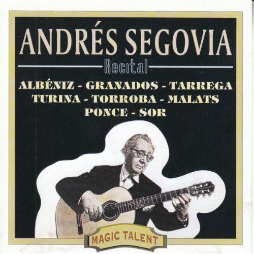 Andres Segovia - Gitarrenmusik - Preis vom 18.01.2021 06:04:29 h