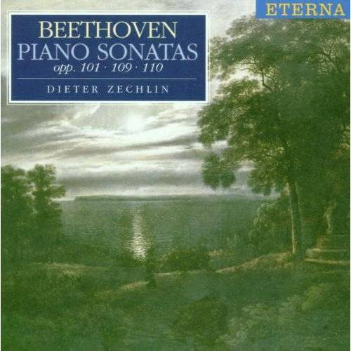 Dieter Zechlin - Klaviersonaten Op. 101, 109, 110 - Preis vom 22.02.2021 05:57:04 h