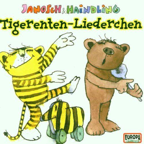 Janosch & Haindling - Tigerenten-Liederchen - Preis vom 20.10.2020 04:55:35 h