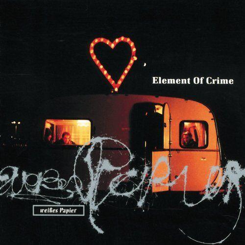 Element of Crime - Weisses Papier [Vinyl LP] - Preis vom 04.09.2020 04:54:27 h