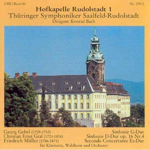 Konrad Bach - Hofkapelle Rudolstadt Vol. 1 - Preis vom 04.10.2020 04:46:22 h